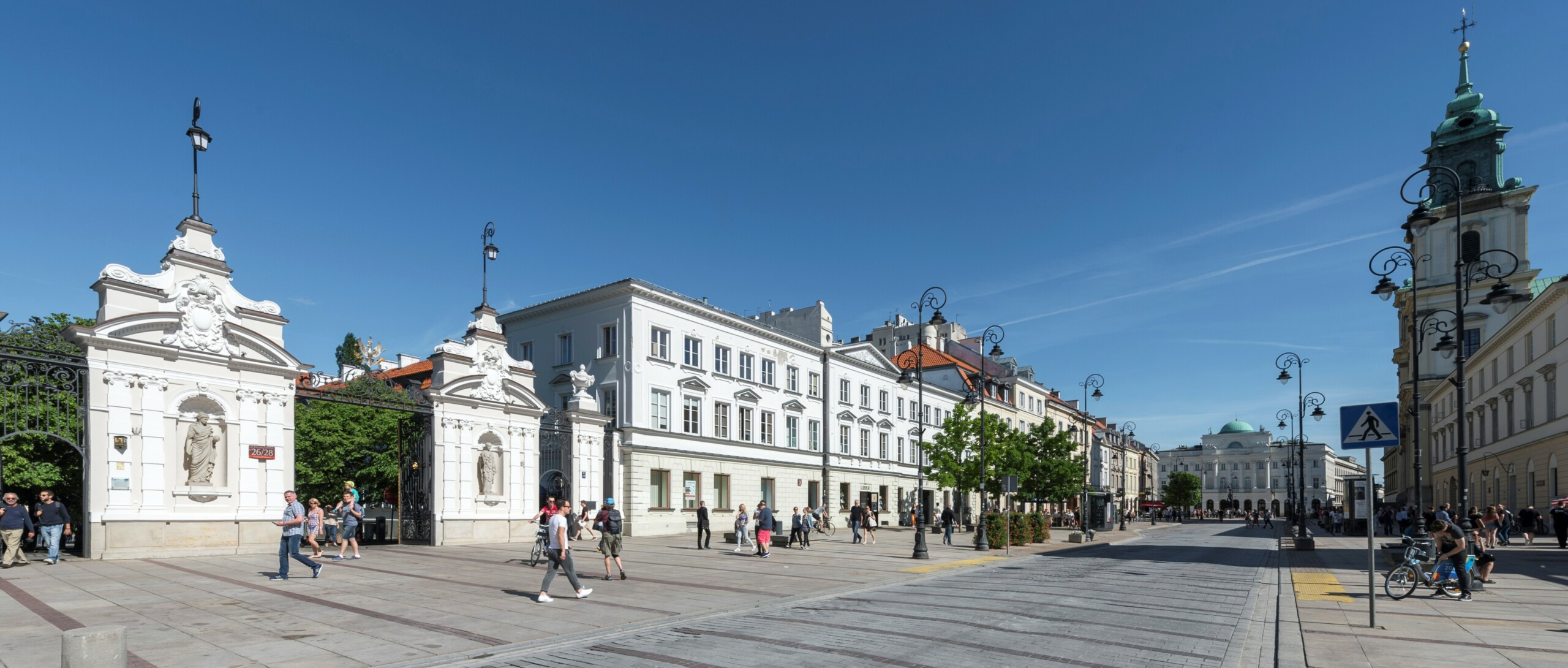 Krakowskie Przedmieście Street, The Main Gate of the University of Warsaw, photo: M. Kaźmierczak